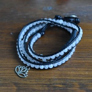 Jewelry - NWOT Gemstone Wrap Bracelet